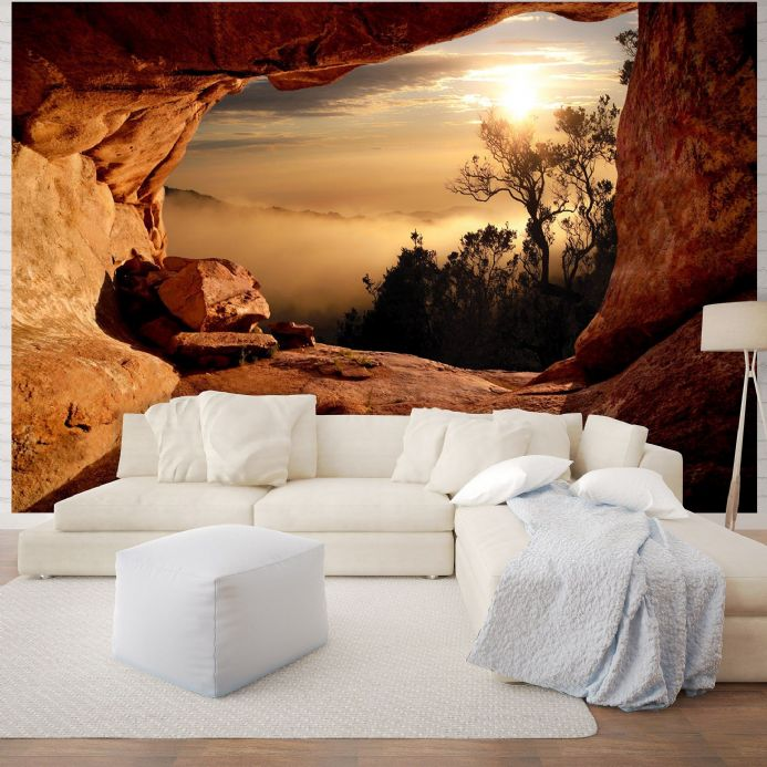 Giant size wall mural wallpapers Mountain view| Homewallmurals Shop